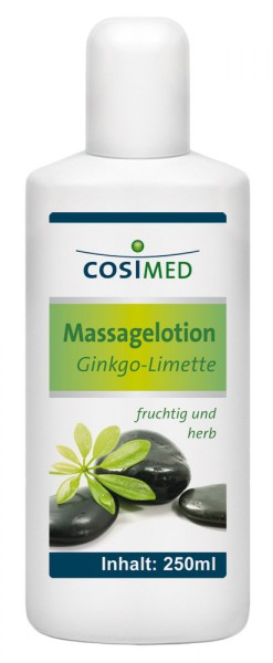 Massagelotion Ginkgo-Limette