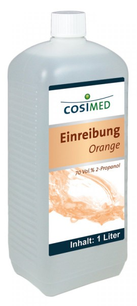 Einreibemittel Orange