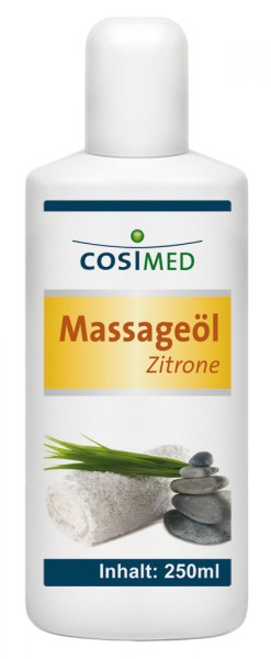 Massageöl Zitrone