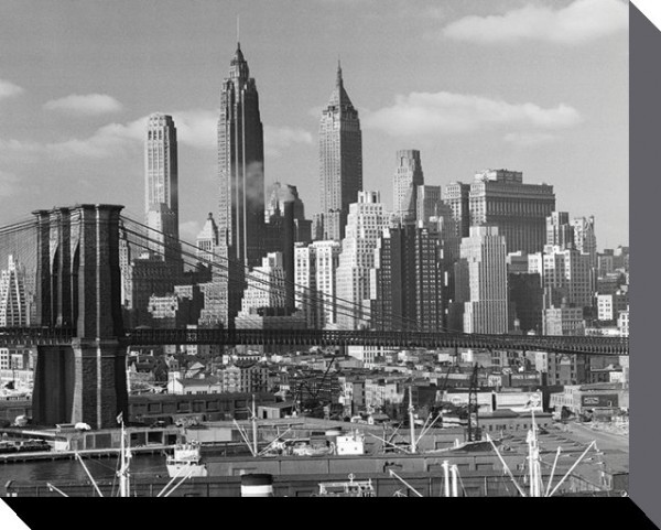 Time Life - Lower Manhattan Skyline 1948